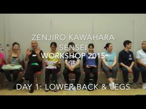 Continuing Professional Education Workshop by Kawahara-sensei